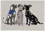 Liora Manne Frontporch 4267/44 Three Dogs Multi Area Rug