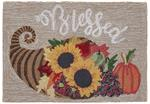 Liora Manne Frontporch 4389/11 Blessed Natural Area Rug