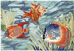 Liora Manne Ravella 2255/04 Tropical Fish Ocean Area Rug