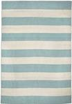 Liora Manne Sorrento 6302/93 Rugby Stripe Water Area Rug