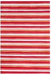 Liora Manne Visions II 4313/24 Painted Stripes Warm Area Rug
