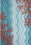Liora Manne Visions IV 3255/03 Coral Reef Water Area Rug
