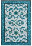 Liora Manne Visions IV 4309/03 Palazzo Azure Area Rug