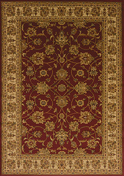 United Weavers Affinity 750 00830 Reza Red Area Rug