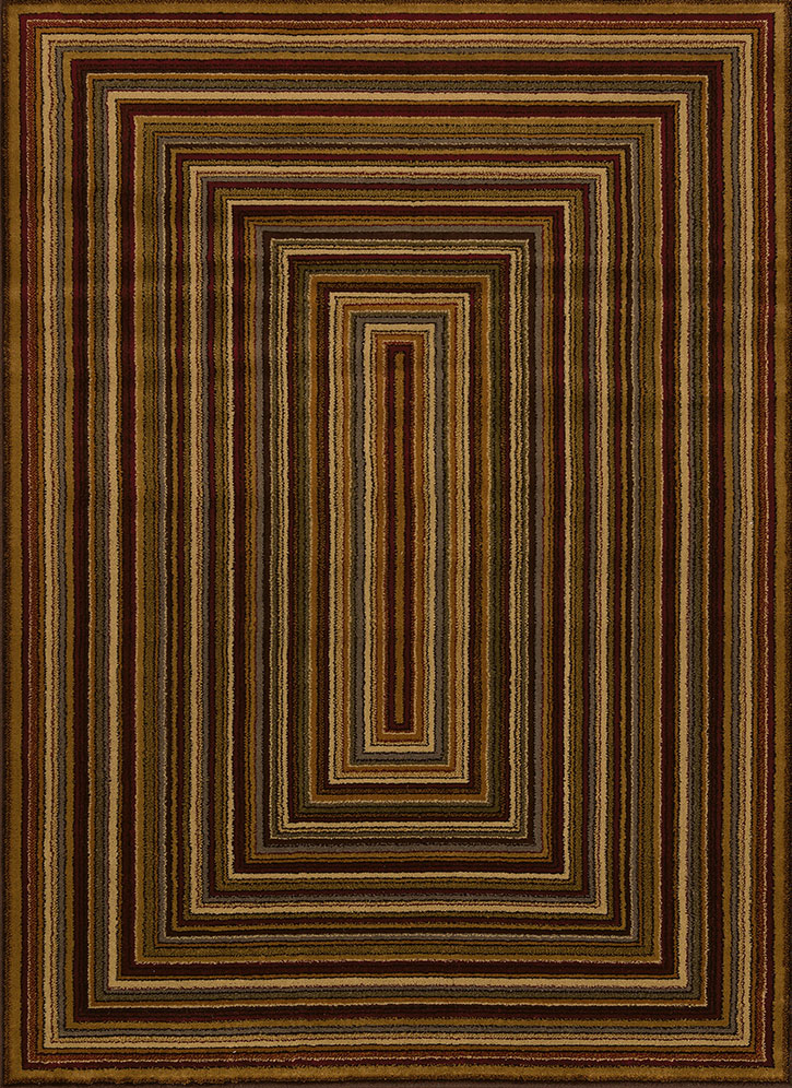 United Weavers Affinity 750 03075 Chapelle Multicolor Area Rug