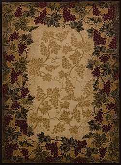 United Weavers Affinity 750 03190 Beaujolais Multicolor Area Rug