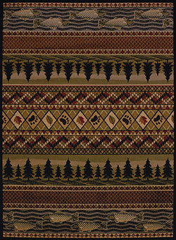 United Weavers Affinity 750 03943 River Ridge Lodge Area Rug