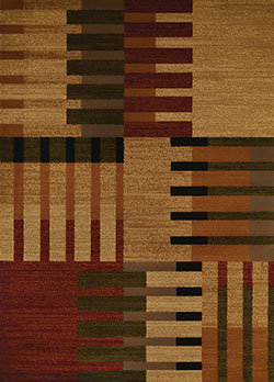 United Weavers Affinity 750 04675 Balance Multicolor Area Rug