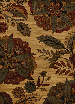 United Weavers Affinity 750 04775 Embroided Floral Multicolor Area Rug