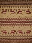 United Weavers Affinity 750 05417 Embroided Moose Natural Area Rug