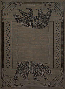 United Weavers Affinity 750 05667 Bear Cave Blue/Grey Area Rug