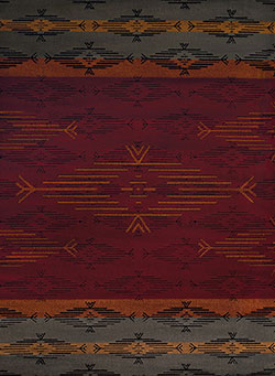 United Weavers Affinity 750 06030 Native Skye Red Area Rug