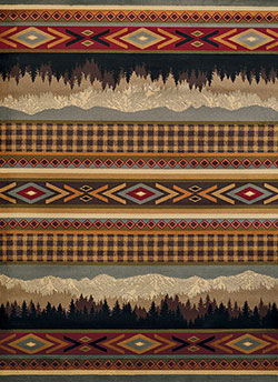 United Weavers Affinity 750 06175 Spring Mountain Multicolor Area Rug