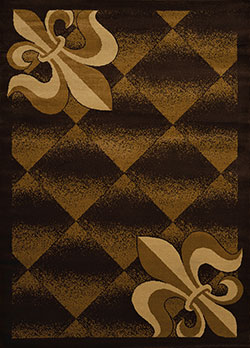 United Weavers Affinity 750 48050 Metairie Brown Area Rug