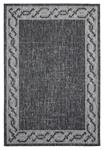 United Weavers Augusta 3900 10070 Whitehaven Black Area Rug
