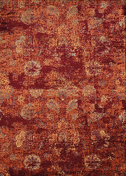 United Weavers Bridges 3001 00136 Via Vicosa Crimson Area Rug