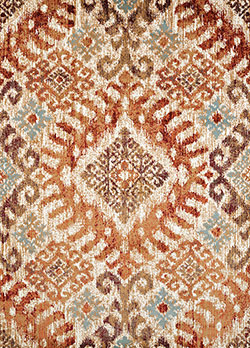 United Weavers Bridges 3001 00236 Verazanno Crimson Area Rug