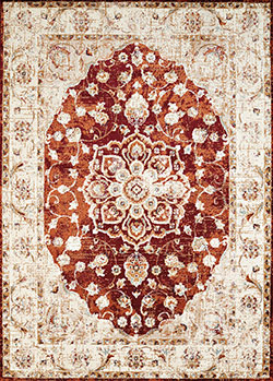 United Weavers Bridges 3001 00436 Ponte Vecchio Crimson Area Rug