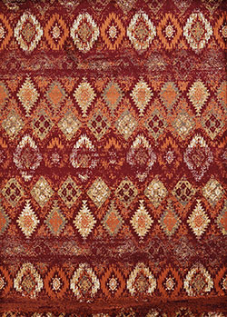 United Weavers Bridges 3001 00536 San Paulo Crimson Area Rug