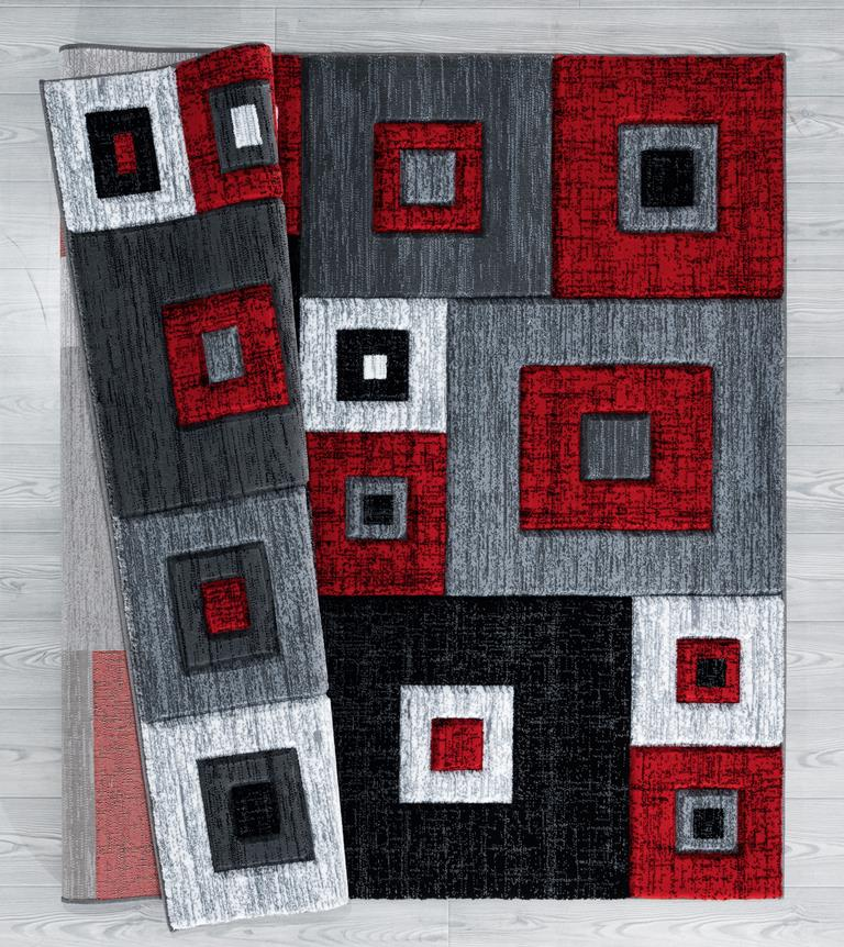 United Weavers Bristol 2050 10230 Cicero Red Area Rug Carpetmart Com