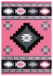 United Weavers Bristol 2050 10486 Caliente Pink Area Rug