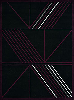 United Weavers Cafe 950 11182 Macchiato Plum Area Rug