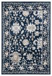 United Weavers Century 4500 10964 Linx Navy Area Rug