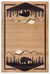 United Weavers Cottage 2055 41226 Treetops Beige Area Rug