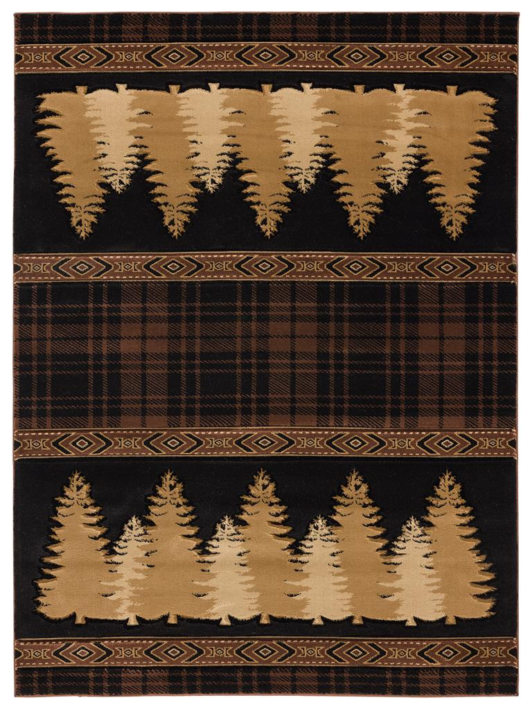United Weavers Cottage 2055 41350 Woodland Brown Area Rug Carpetmart Com
