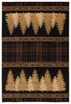 United Weavers Cottage 2055 41350 Woodland Brown Area Rug