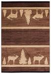 United Weavers Cottage 2055 41750 Deering Brown Area Rug