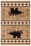 United Weavers Cottage 2055 41826 Timberland Beige Area Rug