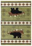 United Weavers Cottage 2055 41845 Timberland Green Area Rug