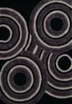 United Weavers Finesse 2100 20570 Records Black Area Rug