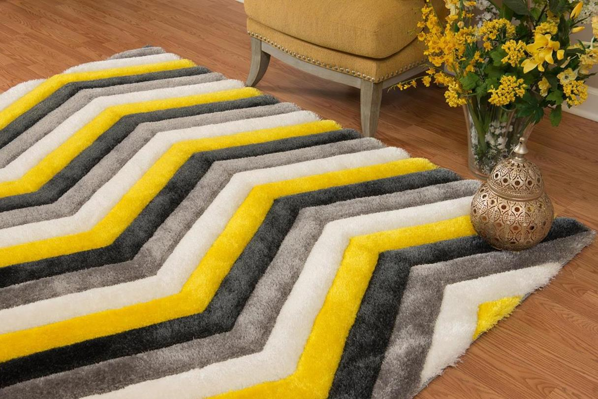 United Weavers Finesse 2100 21212 Mellow Yellow Area Rug
