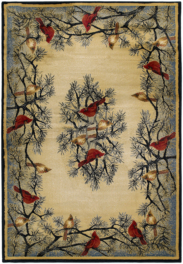 United Weavers Designer Genesis - Hautman Cardinal In Pine 532 40217 Area Rug