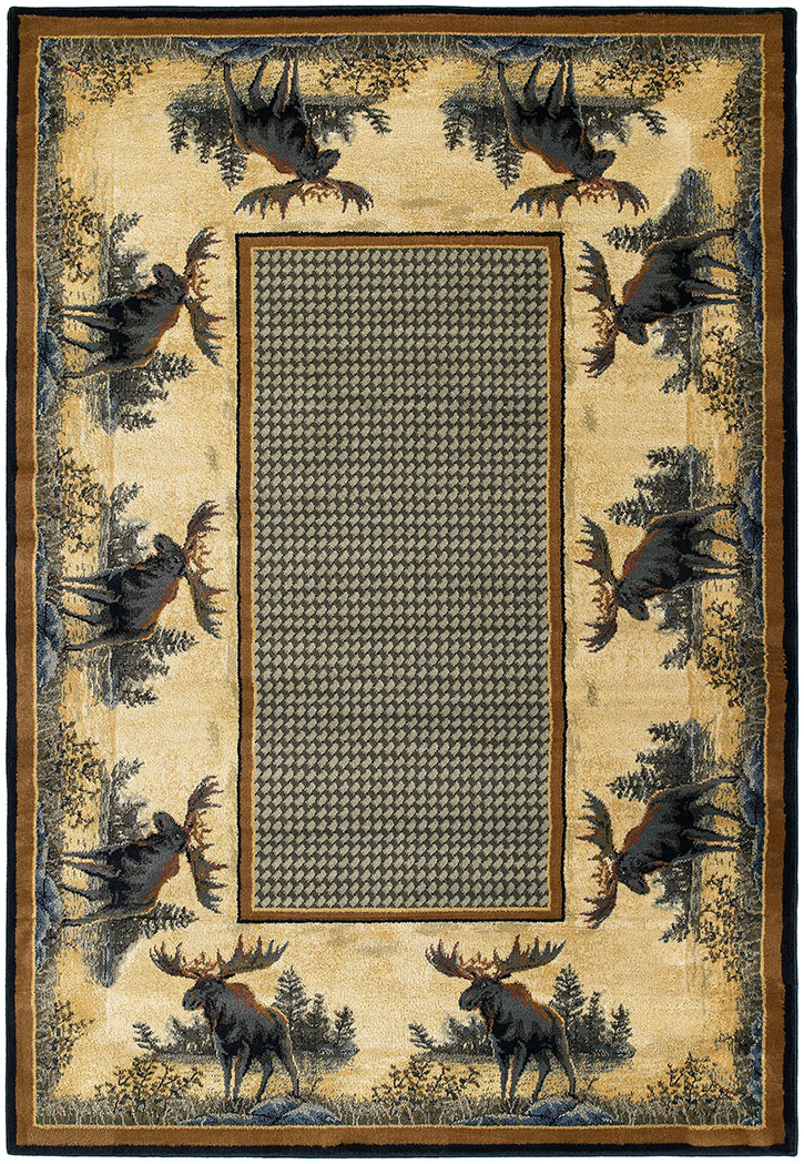 United Weavers Designer Genesis - Hautman Northwood Moose 532 40417 Area Rug