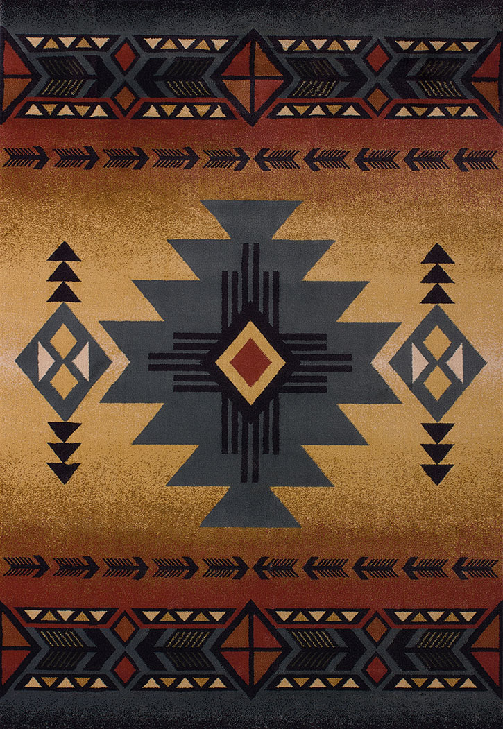 United Weavers Genesis Arizona Blue 530 29260 Area Rug