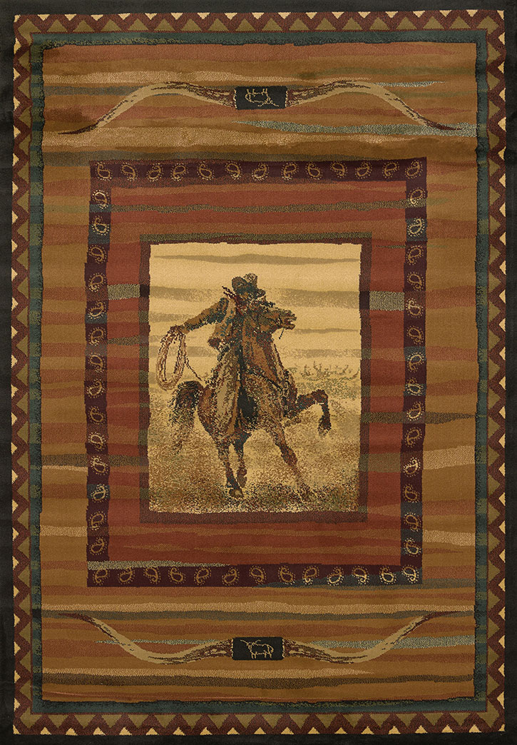 United Weavers Genesis Rawhide Lodge 530 34043 Area Rug