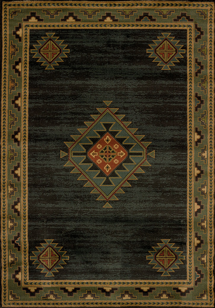 Genesis Laramie Hunter Area Rug By United Weavers Carpetmart