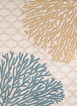 United Weavers Modern Textures 595 40224 Coral Reef Harvest Area Rug