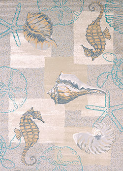 United Weavers Modern Textures 595 40317 Mystic Sea Natural Area Rug