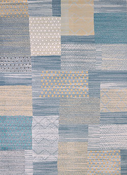United Weavers Modern Textures 595 40860 Applique Blue Area Rug