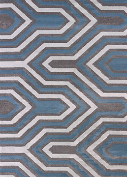 United Weavers Modern Textures 595 41677 Cupola Charcoal Area Rug