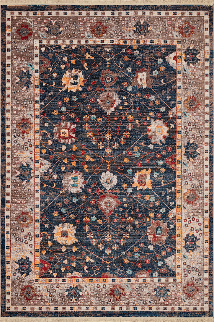 United Weavers Monaco 1950 11064 Carlo Navy Area Rug