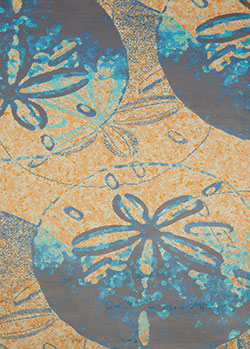 United Weavers Panama Jack Island Breeze 543 60088 Sand Dollar Cove Peach Area Rug