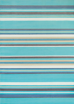 United Weavers Panama Jack Island Breeze 543 60163 Windward Aqua Area Rug