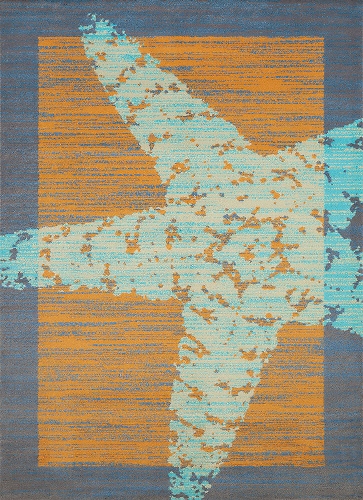 United Weavers Panama Jack Island Breeze 543 60588 Star Fish Border Peach Area Rug