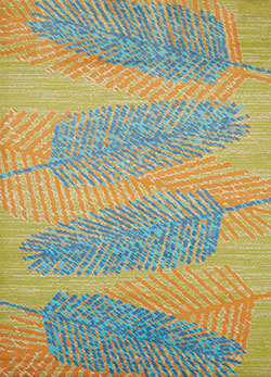 United Weavers Panama Jack Island Breeze 543 60763 Breezy Days Aqua Area Rug