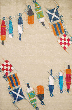 United Weavers Panama Jack Island Breeze 543 60827 Set Sail Sand Area Rug